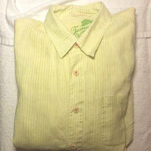 Tommy Bahama Linen Shirt. Size large